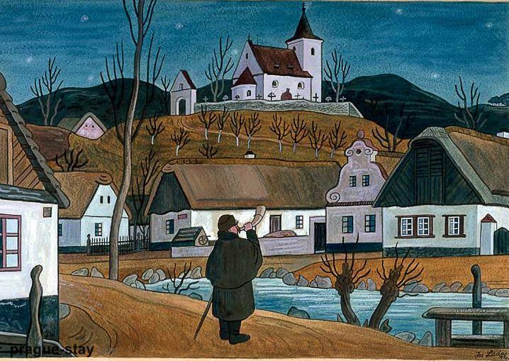 Josef Lada (1887 – 1957) ZpravyCZ prodejní galerie Praha
