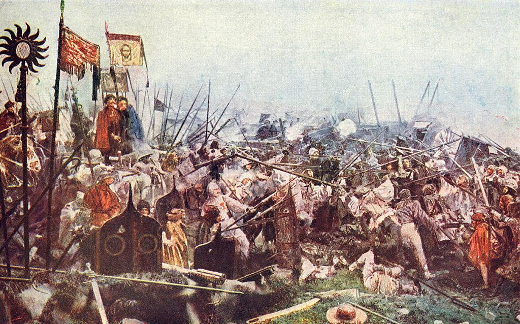 Maroldovo panoráma Bitva u Lipan